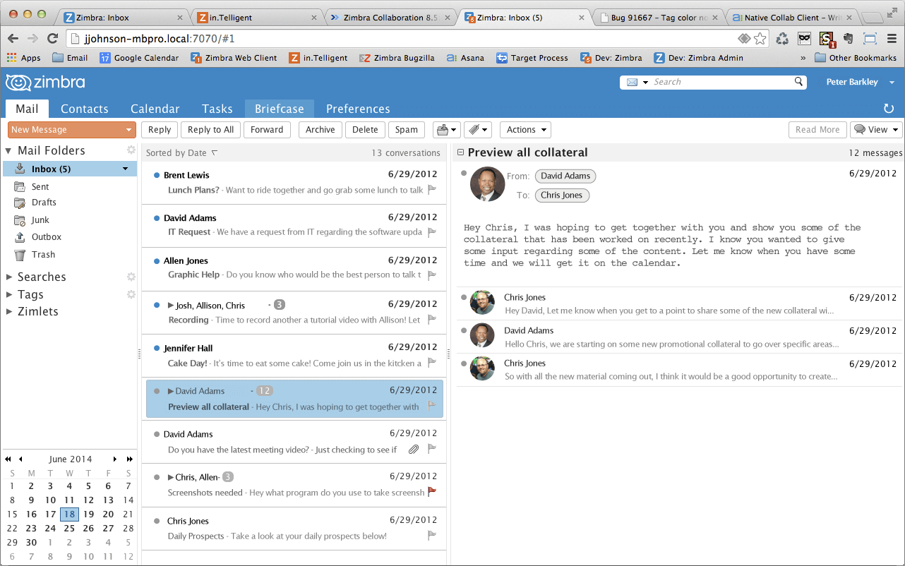 Hosted Zimbra Collaboration